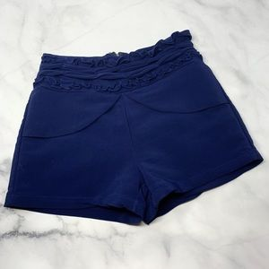 Joiola Brazilian Boutique High-Rise Ruffle Shorts